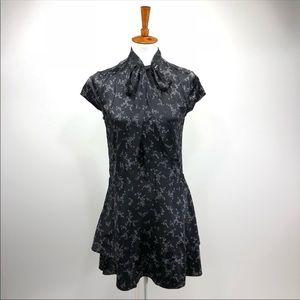 Equipment Femme Natalia Silk Dress XS  D102